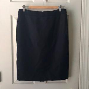 J. Crew wool pencil skirt